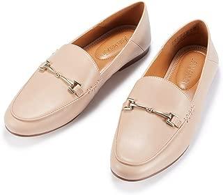 JENN ARDOR Women's Penny Loafers Slip On Flats Comfort Driving Office Loafer Shoes
