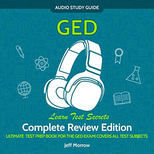 GED Audio Study Guide! Complete A-Z Review Edition! cover art