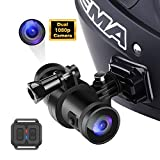 FHD 1080P Helmet Sports Action Camera WiFi Bike Motorcycle Front...