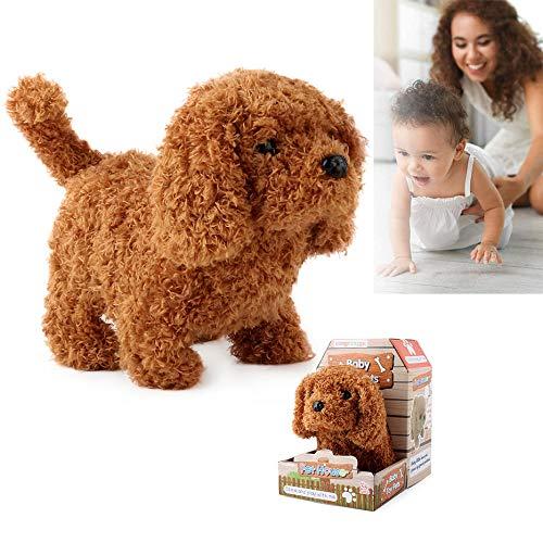 Honden knuffel Retriever gevuld, Soft Cute Cuddly Stuffed, Electronic Dog Toy, Plush Knuffeldier Dog Toy, Interactive Plush Dog