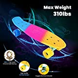 Immagine 1 bellanny skateboard 56 5x16cm completo