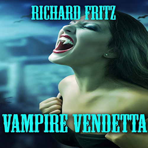 Vampire Vendetta audiobook cover art