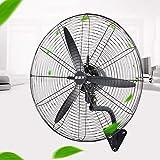 SMYH Ventilatore A Parete Oscillante,Heavy Duty Ventilatore Industriale,3-Speed Ventola Elettrica...