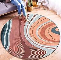 ラグ 円形 北欧 ラグ 円型 カーペット ラグマット ソファサイド ベッドサイド 100x100cm 120x120cm 洗える 滑り止め ラグ 上品 カーペット 玄関マット 室内 北欧風 ふわふわ カラー オールシーズン 絨毯 デザインラグ 160cm