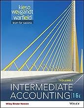 Intermediate Accounting, 16th Edition Volume 1 & 2 Binder Ready Version + WileyPLUS Registration Card