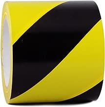 T.R.U. SST-618C Black & Yellow Hazard Warning Safety Stripe Tape: 4
