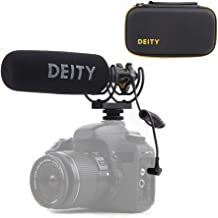 Deity V-Mic D3 Pro Super-Cardioid Directional Shotgun Microphone with Rycote Shockmount for DSLRs, Camcorders, Smartphones, Tablets, Handy Recorders, Laptop and Bodypack Transmitters
