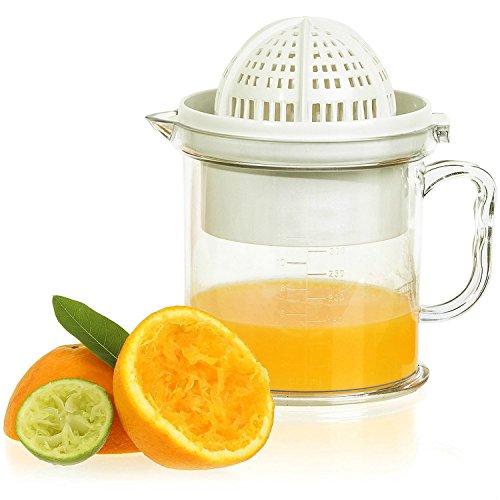 Tailcas® Fashionable Küchen 2 in1 Multi Funktions Manuelle Handpresse Orangen, Grapefruit, Zitrone, Kiwi, Citrus,Wassermelone, Erdbeere, mango Squeezer Saft Entsafter Saftpresse Zitronenpresse Orangenpresse mit Auffangbehälter