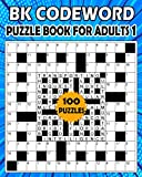 BK Codeword puzzle book for adults 1: Large print codebreaker puzzle book for adults & seniors - 100 Puzzle from (BK Bouchama)