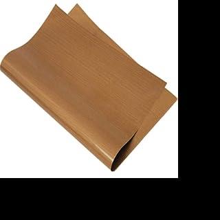 LLAAIT Tapis de Cuisson antiadhésif 33 * 40cm Cuisson Papier huilé Feuille de téflon résistant aux Hautes températures Tap...