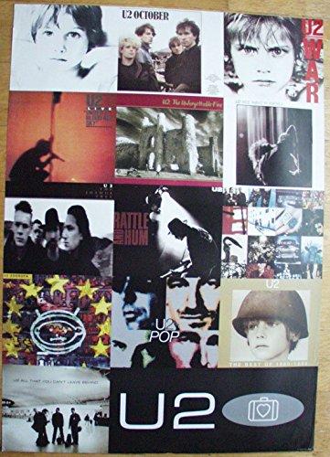 Poster U2 LP-Covers Riesenformat 97 x 137 cm Giant-Poster XXL-Poster