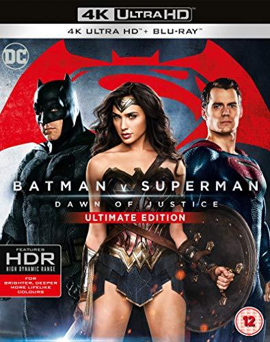 Batman V Superman Dawn Of Justice Ultimate Edition [Edizione: Regno Unito] [Italia] [Blu-ray]