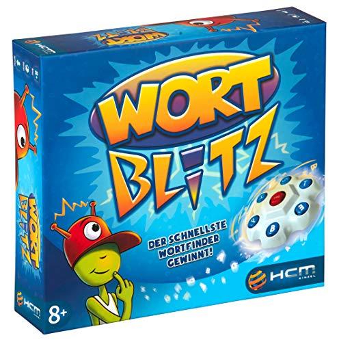 HCM Kinzel Wortblitz – Wissensspiel Wortratespiel Denkspiel mit Buchstabentornado 55117