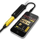 CONMDEX Guitar Converter Adapter Link para teléfono/Pad/Pod