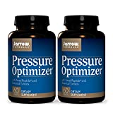 Jarrow Formulas Pressure Optimizer - 60 Tablets, Pack of 2 - with AmealPeptide and Botanical Extracts - Blood Pressure & Antioxidant Support - Heart & Cardiovascular Health - 60 Total Servings