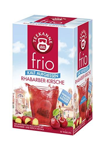 Teekanne frio Rhabarber-Kirsche, 5er Pack (5 x 18 Teebeutel), 5 x 45 g