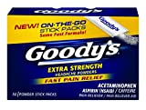 Goody's Extra Strength Headache Powders - Acetaminophen, Asprin, & Caffeine Quickly Relieve Pain Due to Headaches, Body Aches, and Fever - 50 Powders (10042037104105B)
