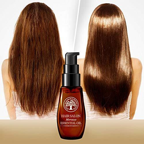 Cocohot Ätherisches Öl für die Haarpflege, Argan-Öl-Haar-Obacht verbessern krauses Haar, Farbstoff Perm beschädigte Sorgfalt