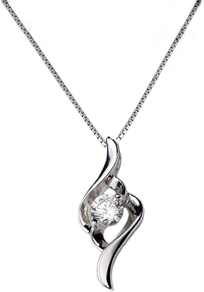 Helen de Lete latest Simple Ranking TOP8 Line Sterling Necklace Silver Collar