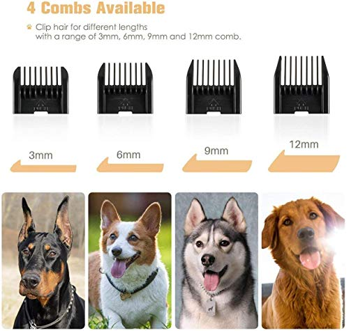 Cordless Dog Trimmer Low Noise