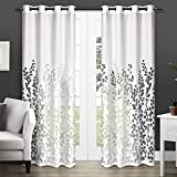Exclusive Home Curtains Wilshire Sheer Window Curtain Panel Pair