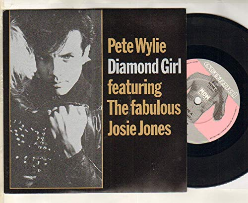PETE WYLIE - DIAMOND GIRL - 7 inch vinyl / 45 record