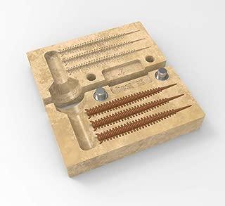 best_nj Soft Plastiс Molds Lure Making Injection Molds Do-It Fishing Lures Molds Nereis Sandworm 2'' DIY