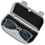 Kaimeilai Custodia universale per occhiali da sole, per auto, SUV, camion (grigio)