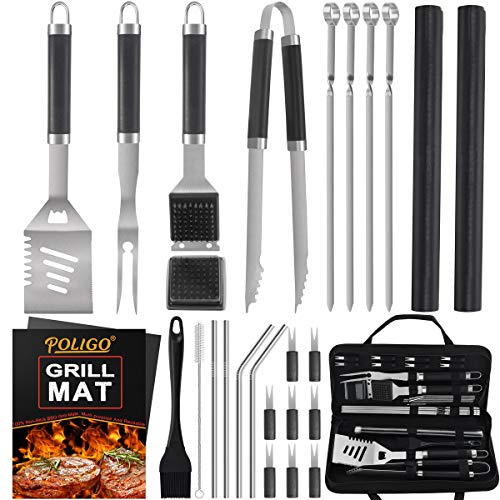 POLIGO 26 PCS BBQ Grill Accessories...