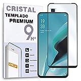 Protector de Pantalla Curvo para OPPO Reno 2Z - Reno 2F, Negro, Cristal Vidrio Templado Premium, 3D / 4D / 5D