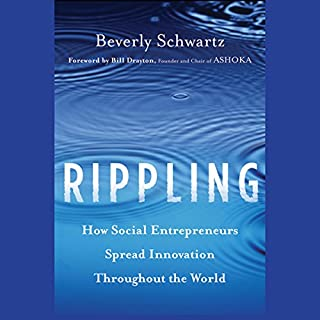 Rippling audiobook cover art