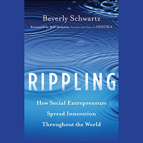 Rippling audiobook cover art