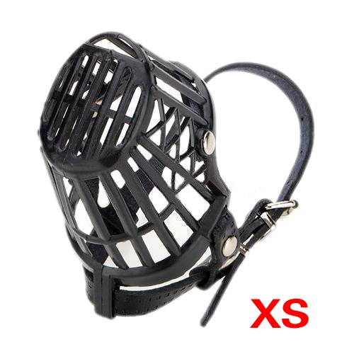 SODIAL(R) Hund Haustier Hund Maulkorb Korb Cage 7 Groesse XS