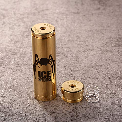 5GVAPE Ice Spider Mechanical Mod, 24mm, fit for 18650 Battery and 20700 Battery, Brass Material,...