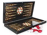 SEMUS Orientalische Backgammon TAVLA XXL Intarsien Look -