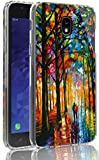 Galaxy J3 2018 Case, Galaxy J3 V/Express Prime 3/ J3 Star/ J3 Achieve/Amp Prime 3/ Eclipse 2/Orbit/Prime 2, Ailiber Oil Painting TPU Protective Cover for Samsung GalaxyJ3/ SM-J337 5inch-Inseparable