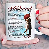 Fathers Day Mug Gifts for Husband - Romantic Love Wedding, Anniversary Gift, Fathers Day Gift from Wife, Birthday Gifts for Husband