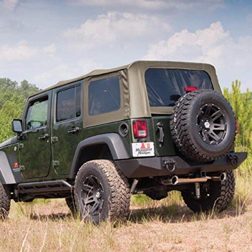 Rugged Ridge 13741.36 Soft Top, Khaki, getönte Scheiben; 07-09 Jeep Wrangler JK