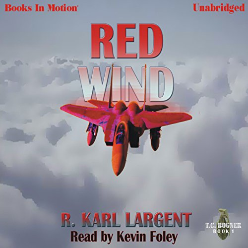 Red Wind audiobook cover art