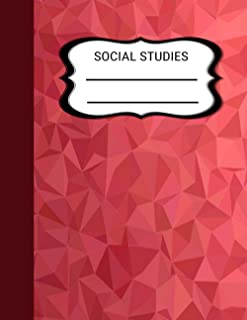 Social Studies One Subject Notebook