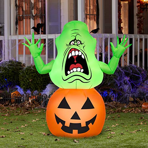 Gemmy Ghostbusters Slimer Halloween Inflatable
