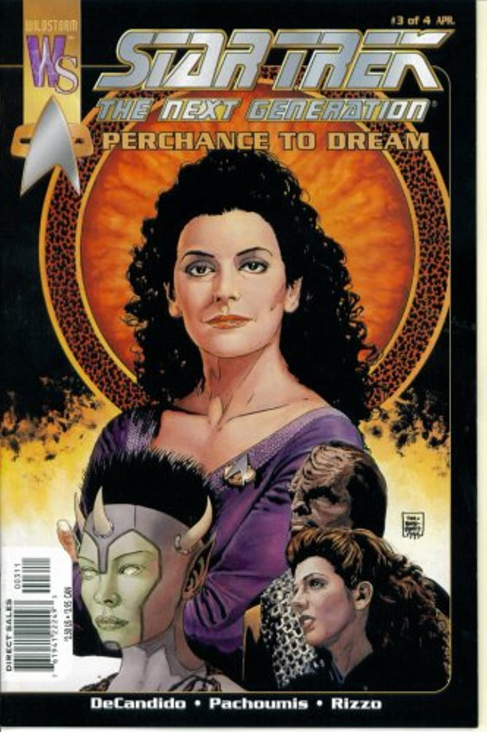 Star Trek The Next Generation - Perchance to Dream #3 : In the Sleep of Death, What Dreams May Come (Wildstorm - DC Comics)