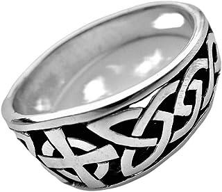 CELTIC CROSS Silber Ring Runen Wikinger Siegel Viking Amulett 925 Keltenkreuz