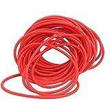 FOLOSAFENAR Resilience Fast 10M Red Slingshot Rubber Band Tube, Utilizado para Pesca al Aire Libre, Accesorio de catapulta(2040)