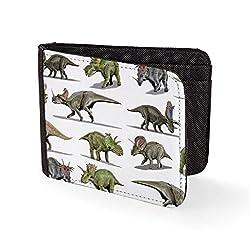 6. Bang Tidy Clothing Store Retro Hipster Dinosaur Sublimation Printed Wallet