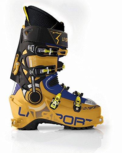 La Sportiva Spectre 2.0 Mens Alpine Touring Boot, Yellow/Blue, 29.5, 88L-YlBlu-29.5