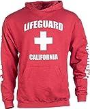 California Lifeguard | Red Cali Fleece Hoody Sweatshirt Hoodie Sweater Men Women...
