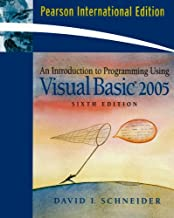 Introduction to Programming Using Visual Basic 2008 (7th, 09) by Schneider, David I [Paperback (2008)]