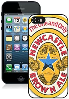 iPhone 5 5S Newcastle Brown Ale 1 Black Shell Cover Case,Popular Design