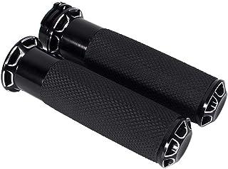 Keenso 2 Stück Motorrad Griffe, 1 Zoll, 25 mm, Griff für Motorrad Lenker, rutschfest, Universal Griffe, 2 Stück